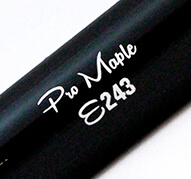 E243 composite bat barrel